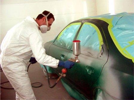 Покрасить автомобиль своими руками